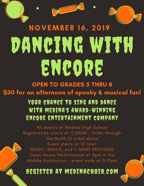 Dancing with Encore